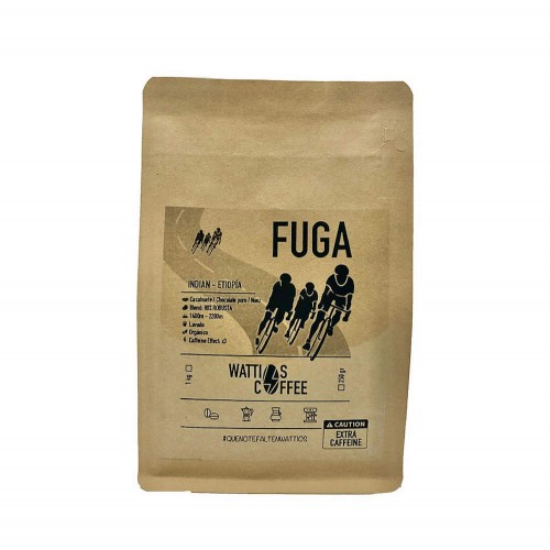 Blend Specialty Coffee - Fuga - India and Ethiopia - Wattios Coffee - Cafe Gourmet