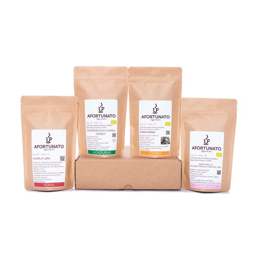 Father's day special pack - 4 origins specialty coffee - Cafe Gourmet